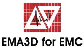 EMA3D for EMC Logo